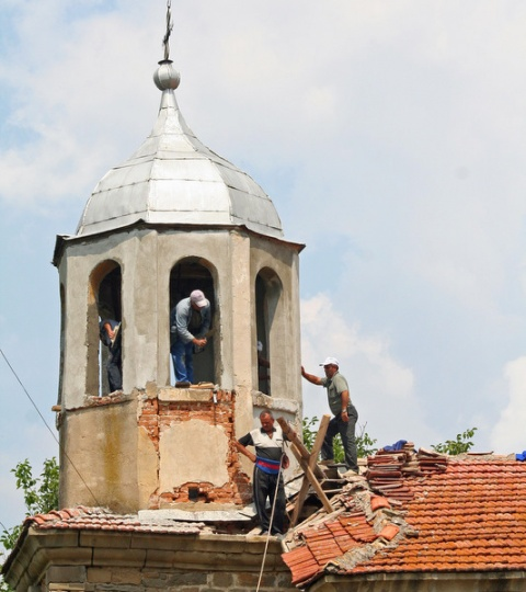Rebuild church bulgaria